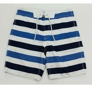 GAP Men's Size Small Blue White Board Surf Shorts